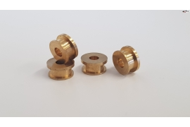 Brass bearing with 6mm lip