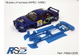 Chassis 3DP Flex RS2 Subaru Impreza WRC MSC