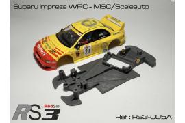 Chassis 3DP Flex RS3 Subaru Impreza WRC AW