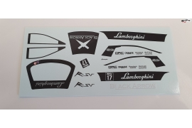 Decals set Black Bull 17