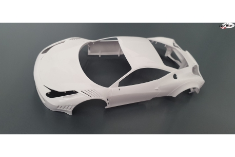 Ferrari GT3 Italia Patron.  Body Kit  Black Arrow
