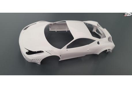 Ferrari GT3 Italia Patron.  Kit Carroceria  Black Arrow