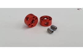 "Aluminium stopper for 3/32"" (2,38 mm.) axles"