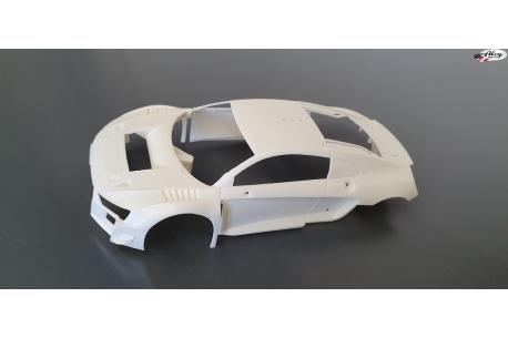 Body  Audi R8 LMS GT3 Kit white
