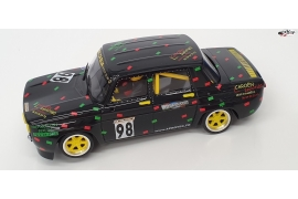 Renault 8 Gordini  Black French