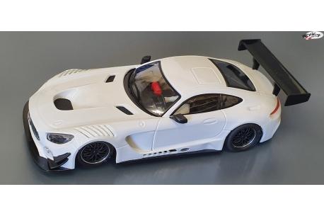 Mercedes AMG Test Car AW White