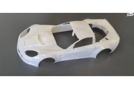 Carroceria Corvette C6-R