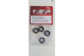 Neumático trasero Slick  17 x 8 mm