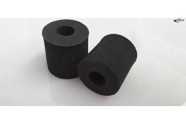 Sponge tyres