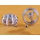 Aluminum light rim 16.9 x 8.2 mm