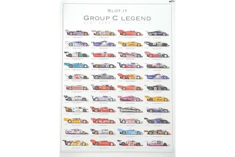 Poster Grupo C Legends ( 2011-2017 )
