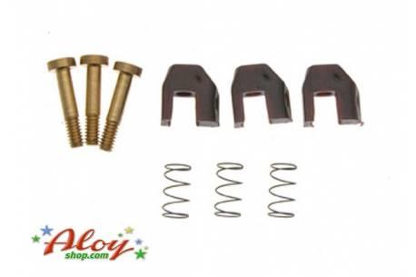 Soft suspension for NSR triangular motor bracket
