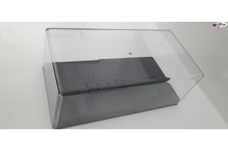 Transparent plastic urn 1/24