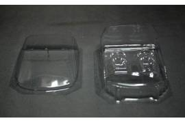 Interior + Crystal lexan Mitsubishi EVO (Raid) Avant-Slot
