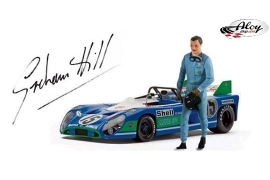 Graham Hill figure