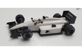 Formula 1 86/89 White Test Car IL