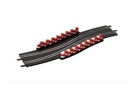 Chicane en curva - Carrera GO!!! 1/43