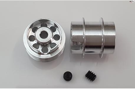 Aluminium wheel 13x13 mm. Formula NSR