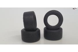 Neumatico trasero slick 19.5x10 mm