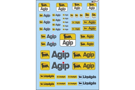 Decals Agip