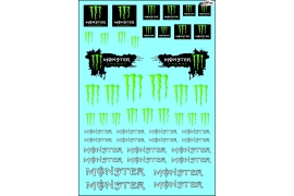 Monster decals