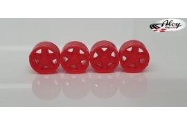 Tapacubos Rojos  Formula 1 86/89