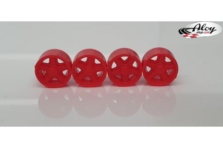 Red Hubcaps Formula 1 86/89.