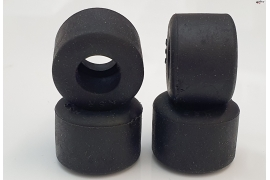 Tire slick 19.5x13 mm Black