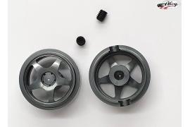Llanta aluminio 16.2x8.5 mm. Sebring