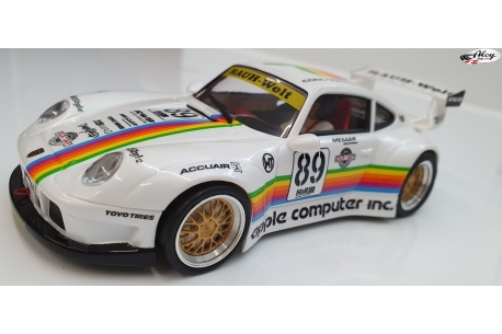 Porsche 911 GT2 Apple white