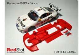 Chasis Porsche 997 Ninco