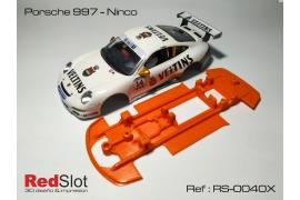Chasis Porsche 997 Ninco ( Blando )