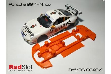 Chassis Porsche 997 Ninco( Soft )