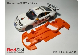 Anglewinder chassis Porsche 997 Ninco