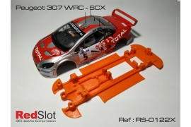 3DP In Line chassis Peugeot 307 WRC SCX