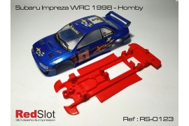 Chasis en línea 3DP Subaru Imprezza WRC