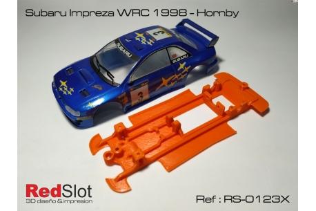Chasis en línea 3DP Subaru Imprezza WRC ( Blando )