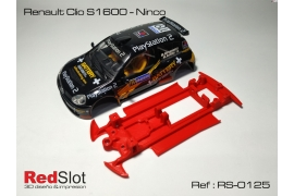 Chasis en línea 3DP Renault Clio S1600 NC