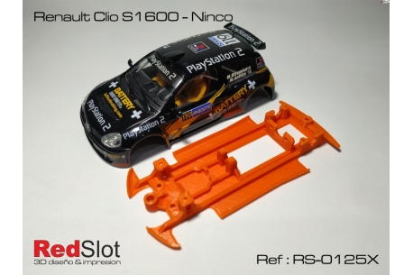 3DP In Line chassis Renault Clio S1600 NC ( Soft )