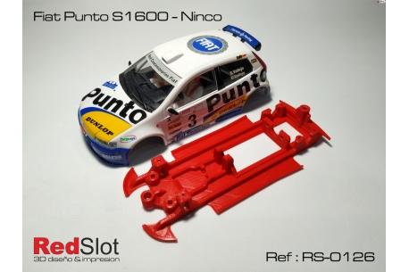 Chasis en línea 3DP Fiat Punto S1600 NC