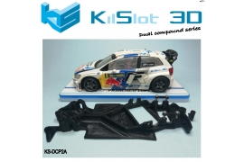 Chassis Angular Dual Comp Polo WRC Superslot