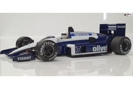 Formula 1 86/89  Blue Olivetti IL