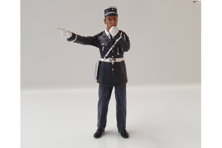 Andre Policeman figure painted