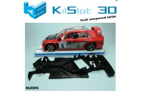 Chassis Angular Dual Comp Mitsu Evo VIII WRC NC