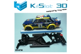 Angular Race Soft chassis 2018 Fiat 131 Abarth SCX