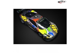 Ferrari GT3 Italia KIT AW VR46 CHROME