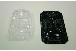 Interior + Cristal lexan ABARTH 500 NSR (rally)