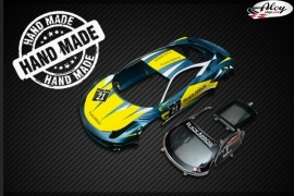 GT3 ITALIA bodywork Blue-Yellow