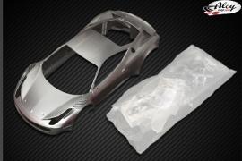 GT3 ITALIA bodywork Silver