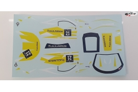 Decals set GT3 Italia Yellow 21